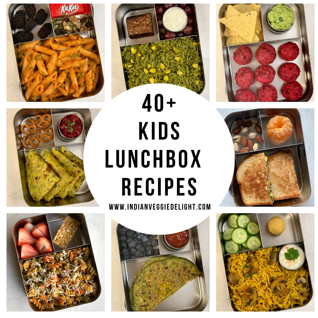 40+ Healthy Kids Lunch Box Recipes Lunch box recipes