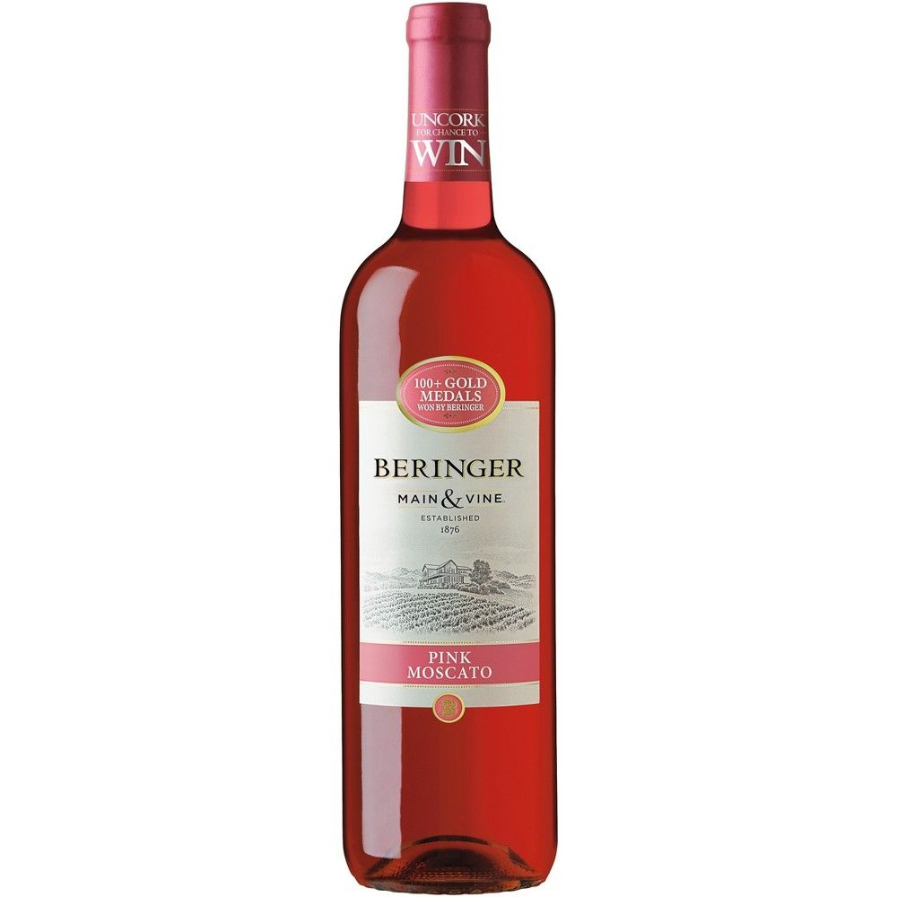 Beringer Pink Moscato Wine 750ml Bottle In 2020 Moscato Wine Pink Moscato White Zinfandel