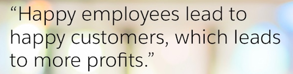 Have A Good Day Happy employees, Happy customers, Math