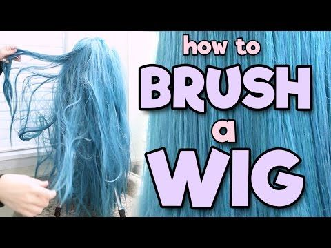 How to Brush a Wig | Alexa's Wig Series #2 - YouTube