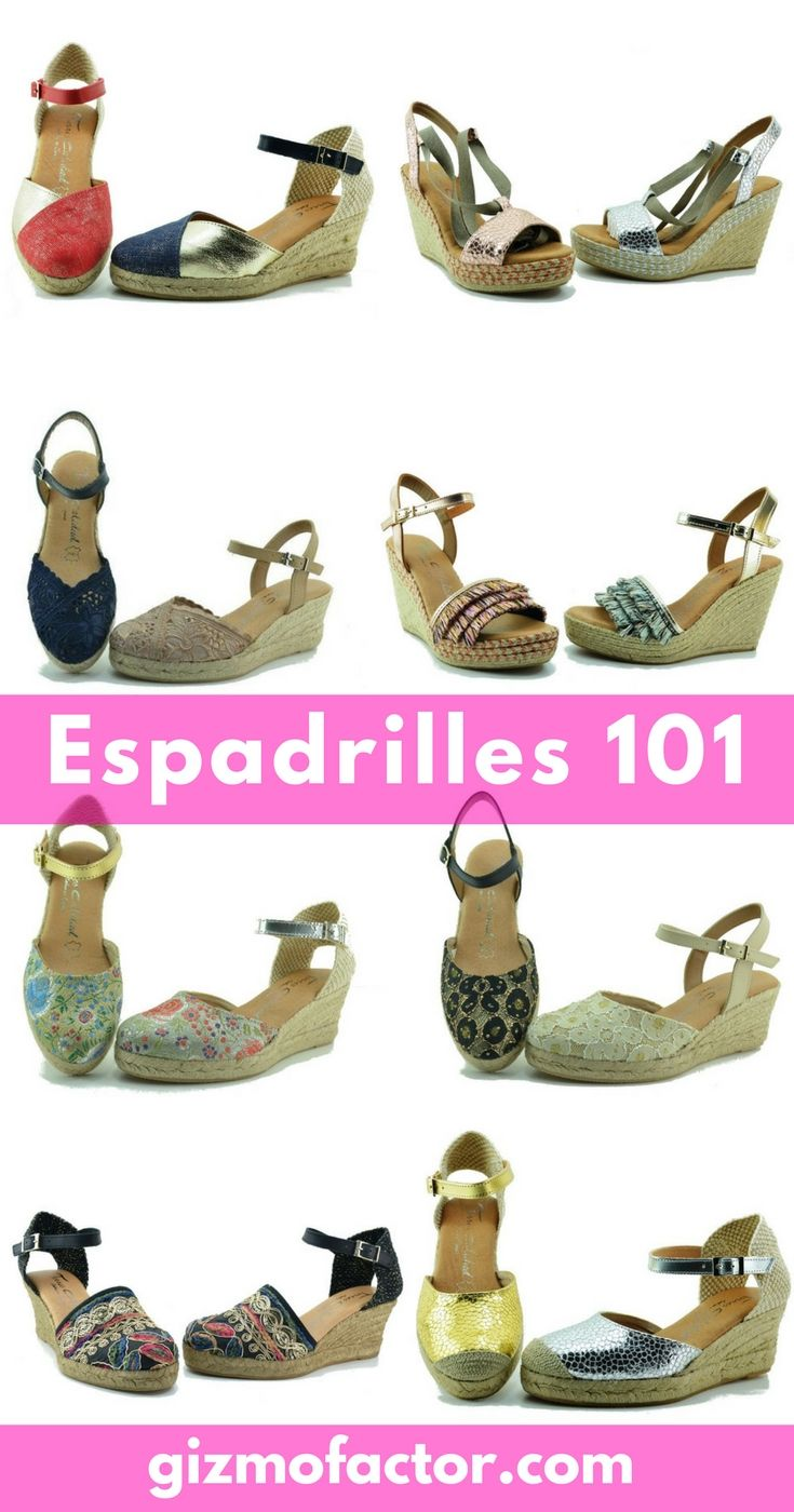 Buy authentic espadrilles 100 made in Spain. Free