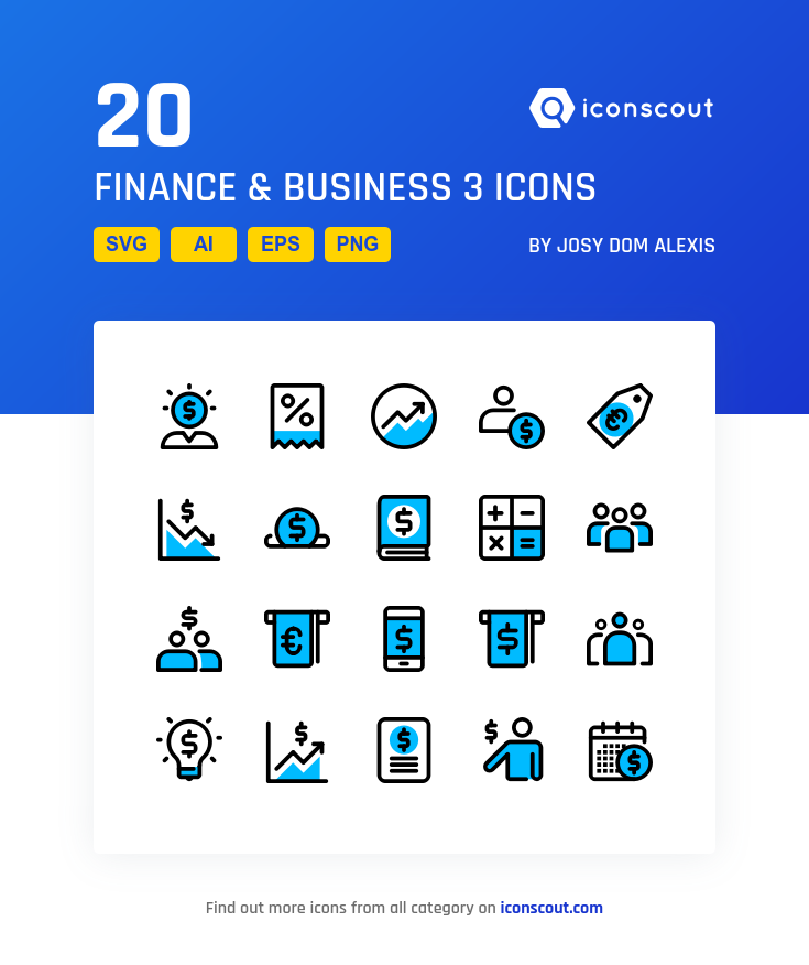 Download Finance Business 3 Icon Pack Available In Svg Png Eps Ai Icon Fonts Business Finance Finance Icon