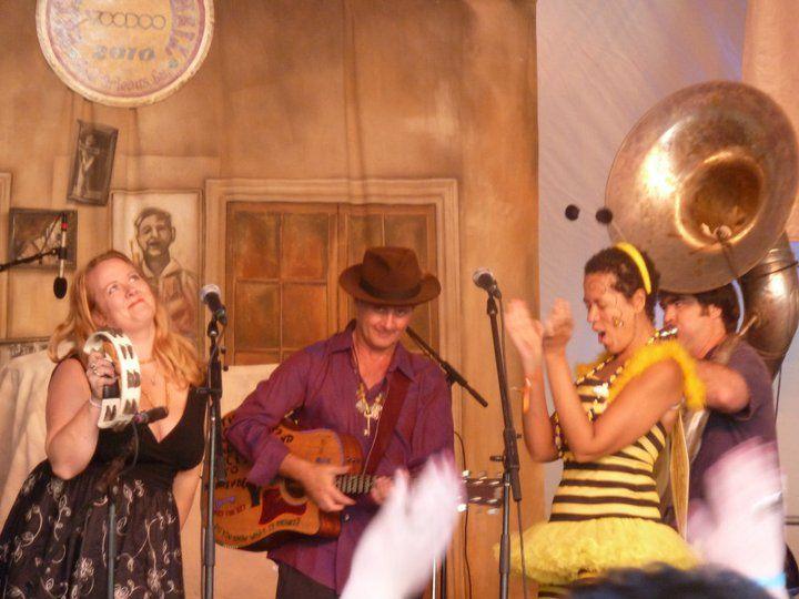 Paul Sanchez, Debbie Davis and the Rolling Road Show, Voodoo Fest, 2010, New Orleans