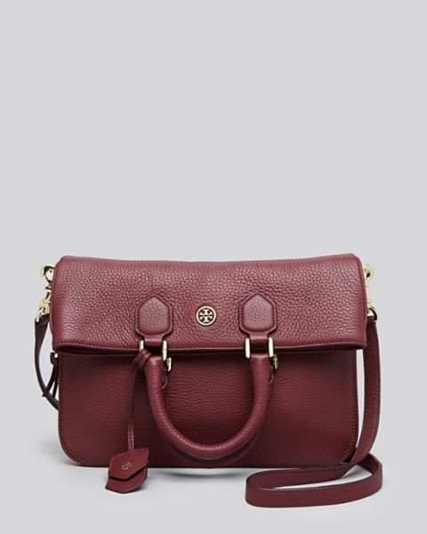 dafd8631e2d Tory Burch Robinson Pebbled Folded Messenger Crossbody Çanta - Bordo   toryburch  toryburchturkiye  toryburchfiyat  toryburchmodelleri   toryburchiletisim
