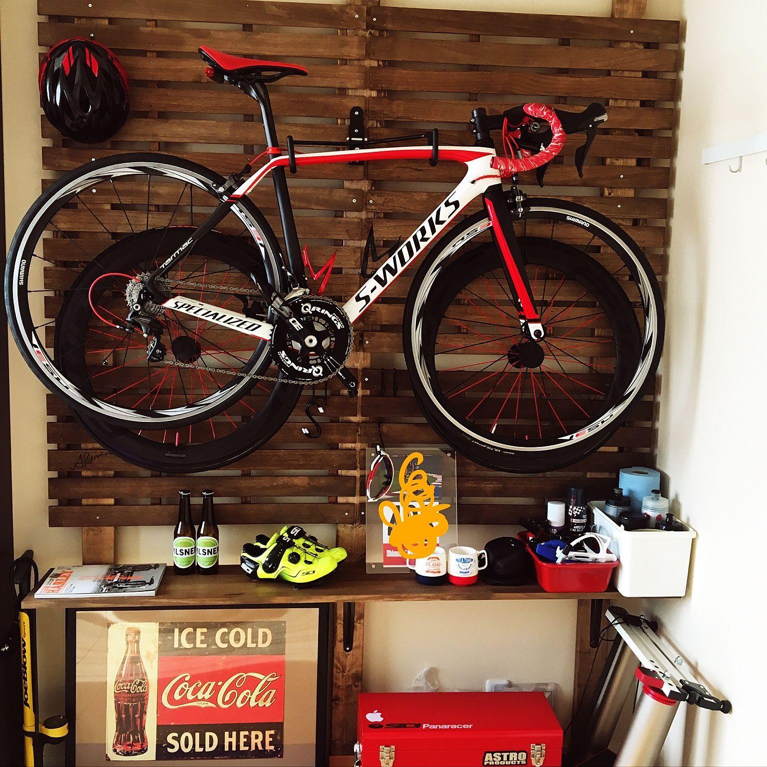 工具箱セット ロードバイク 壁 天井 Diy 自転車コーナー などの