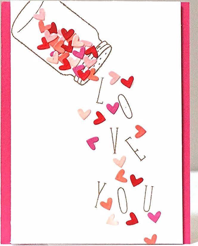 22 Cute DIY Valentine's Day Cards – Homemade Card Ideas for Valentine's Day