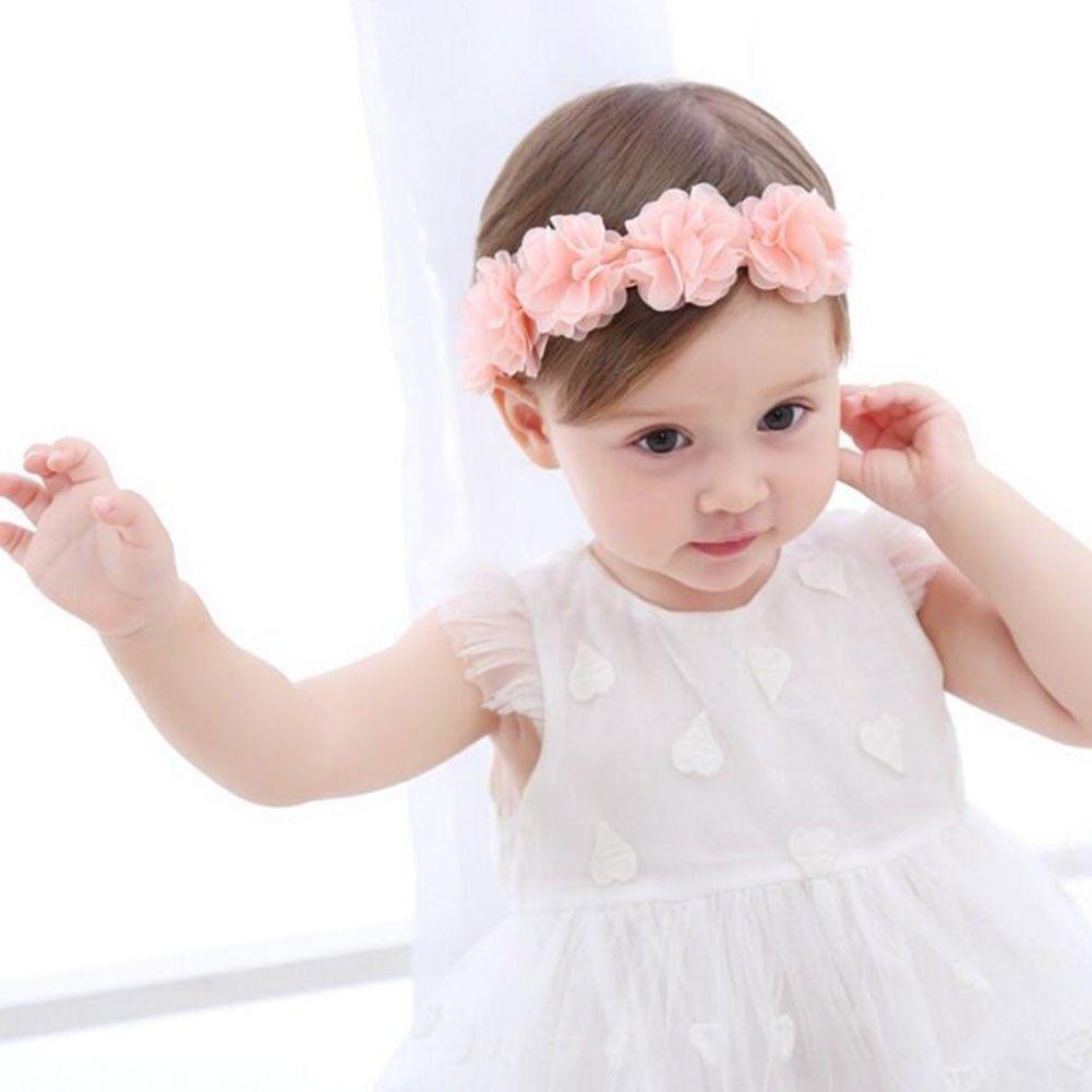 1.1 - Newborn Baby Girls Toddler Cute Lace Flower Hair Band Headwear Kids  Headband  ebay  Fashion 44905a95d09