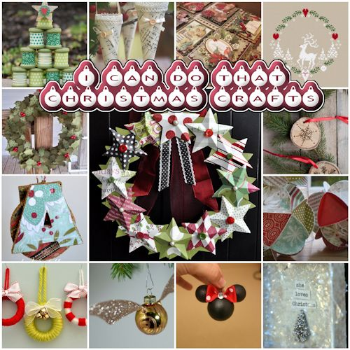 I can do that! Christmas Crafts