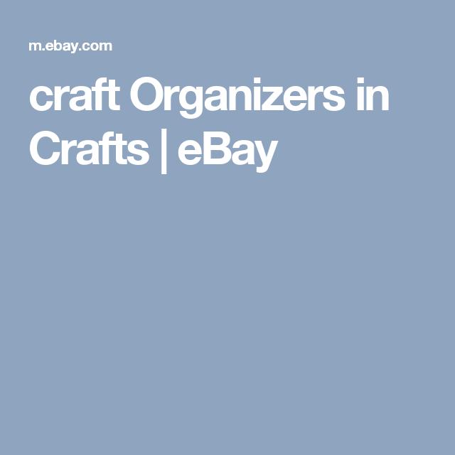 craft Organizers in Crafts | eBay