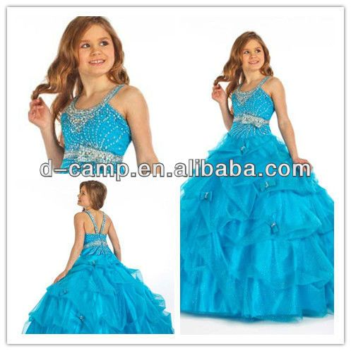 Fg 030 Stunning Puffy Ball Gown Party Dresses For Girls Of 8 11