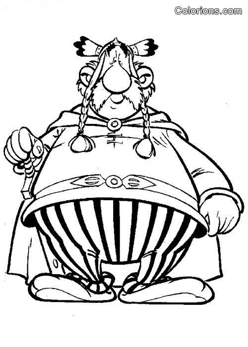 Asterix Et Obelix Obelix Pages De Coloriage Disney Coloriage