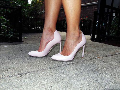 Dior Pink Shoes | High Heel Hydrangeas  instagram.com/highheelhydrangeas