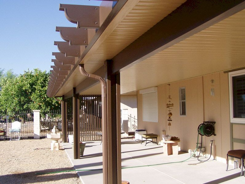 Alumawood Newport Solid Shade Structures Patio shade