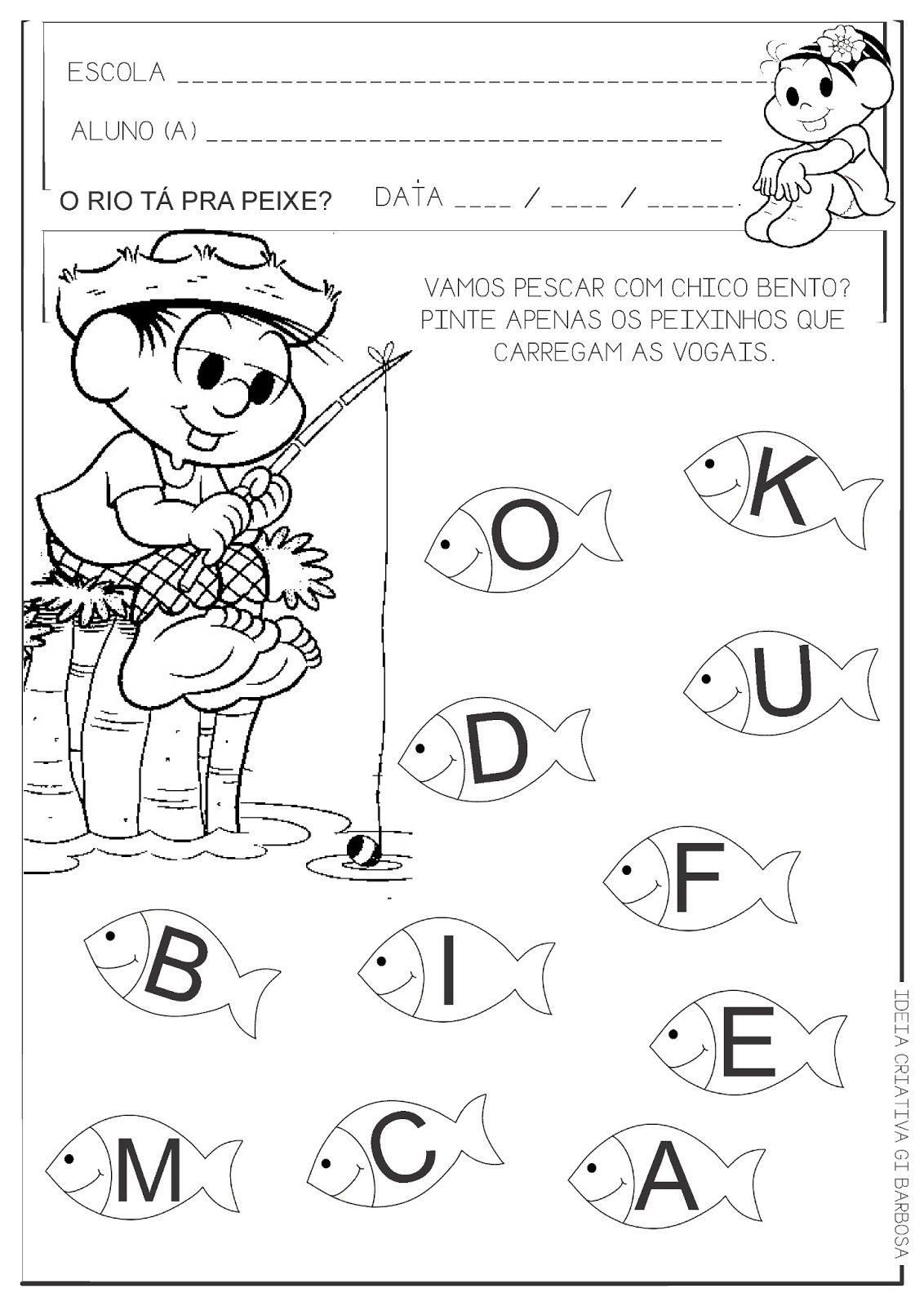 atividades para educação infantil vogais - Pesquisa Google   VOGAIS ...