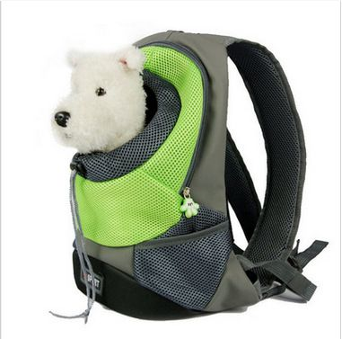Pet Front Carrier Dog Cat Puppy Travel Bag Mesh Backpack Head Out