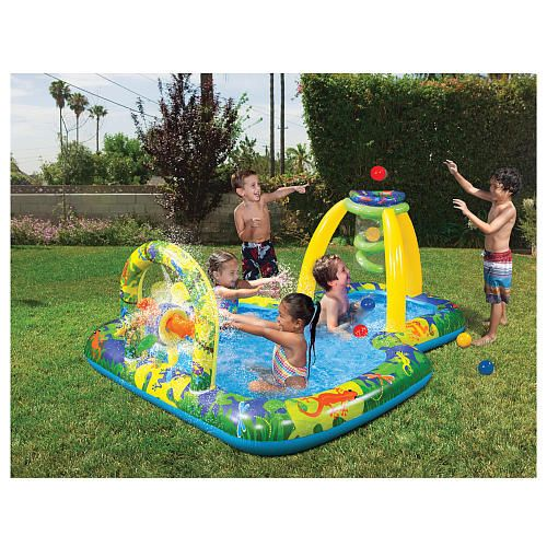 Banzai Jungle Fun Playground Pool Manley Toys R Us Knox Max Pinterest Playground