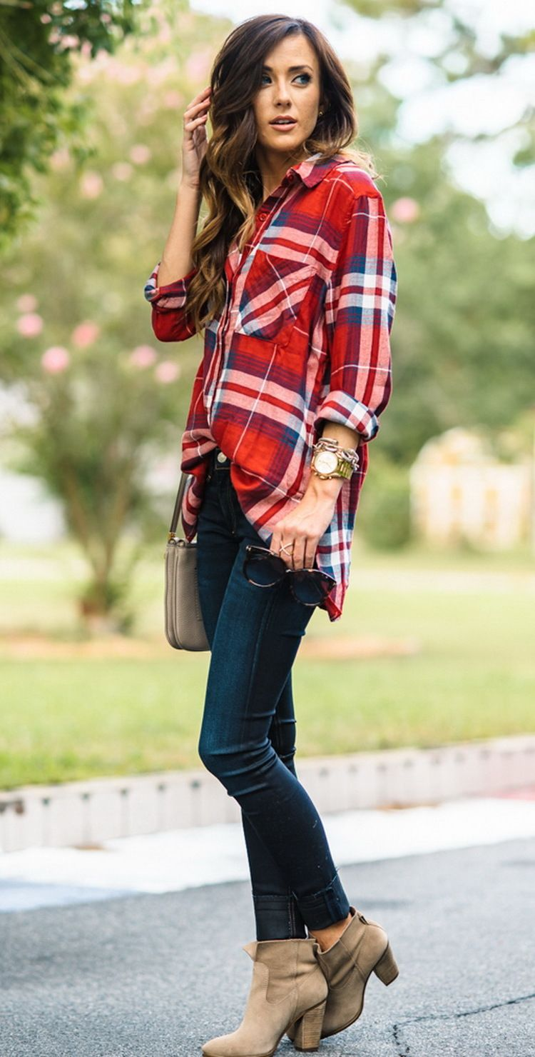 Flannel shirt outfits for women  Whatus Trending   Outfits Summer  Clothes Fall winter and Winter