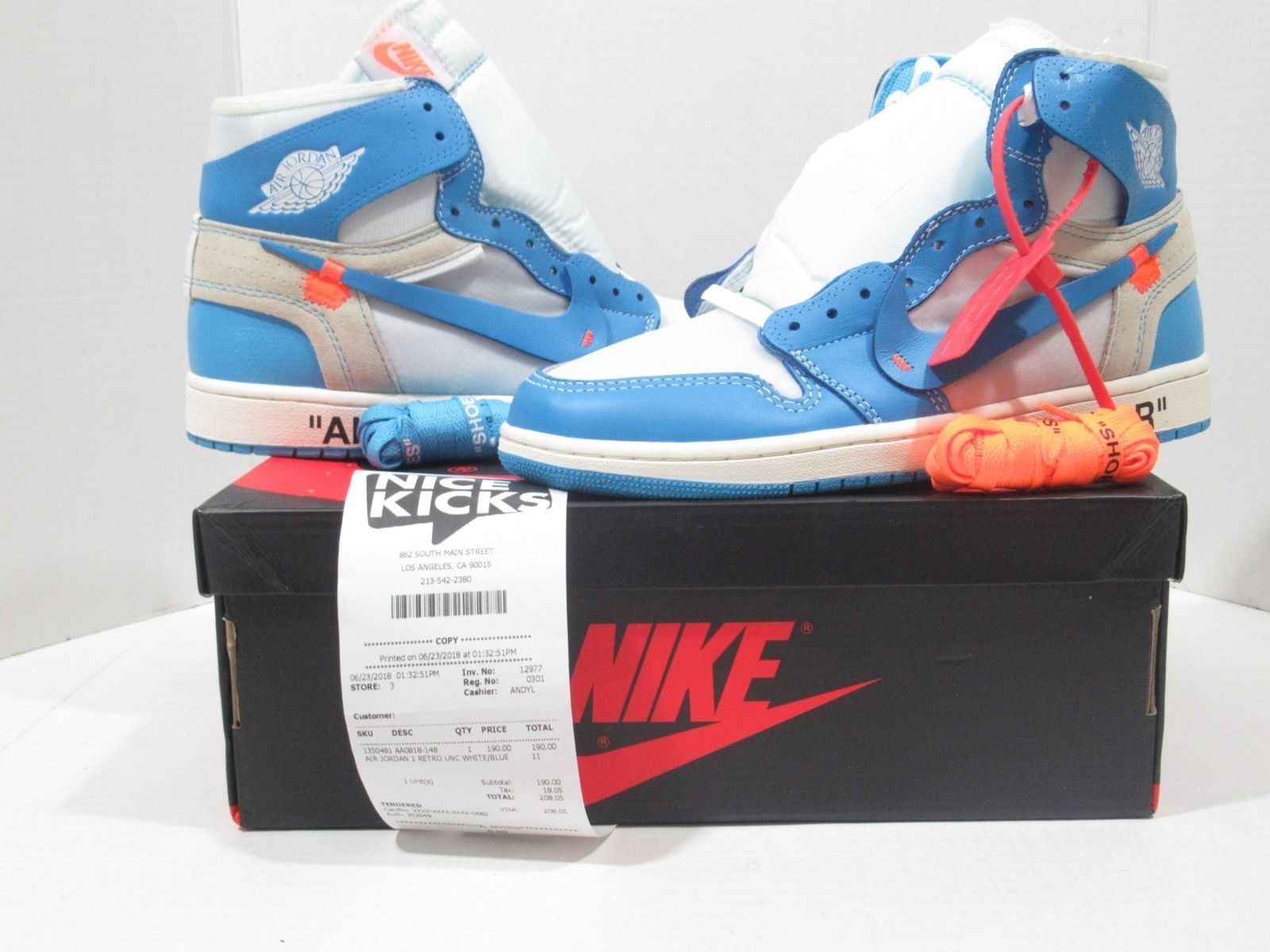 Nike Air Max 1 Og Vintage Blue Air Jordan 11 Red White