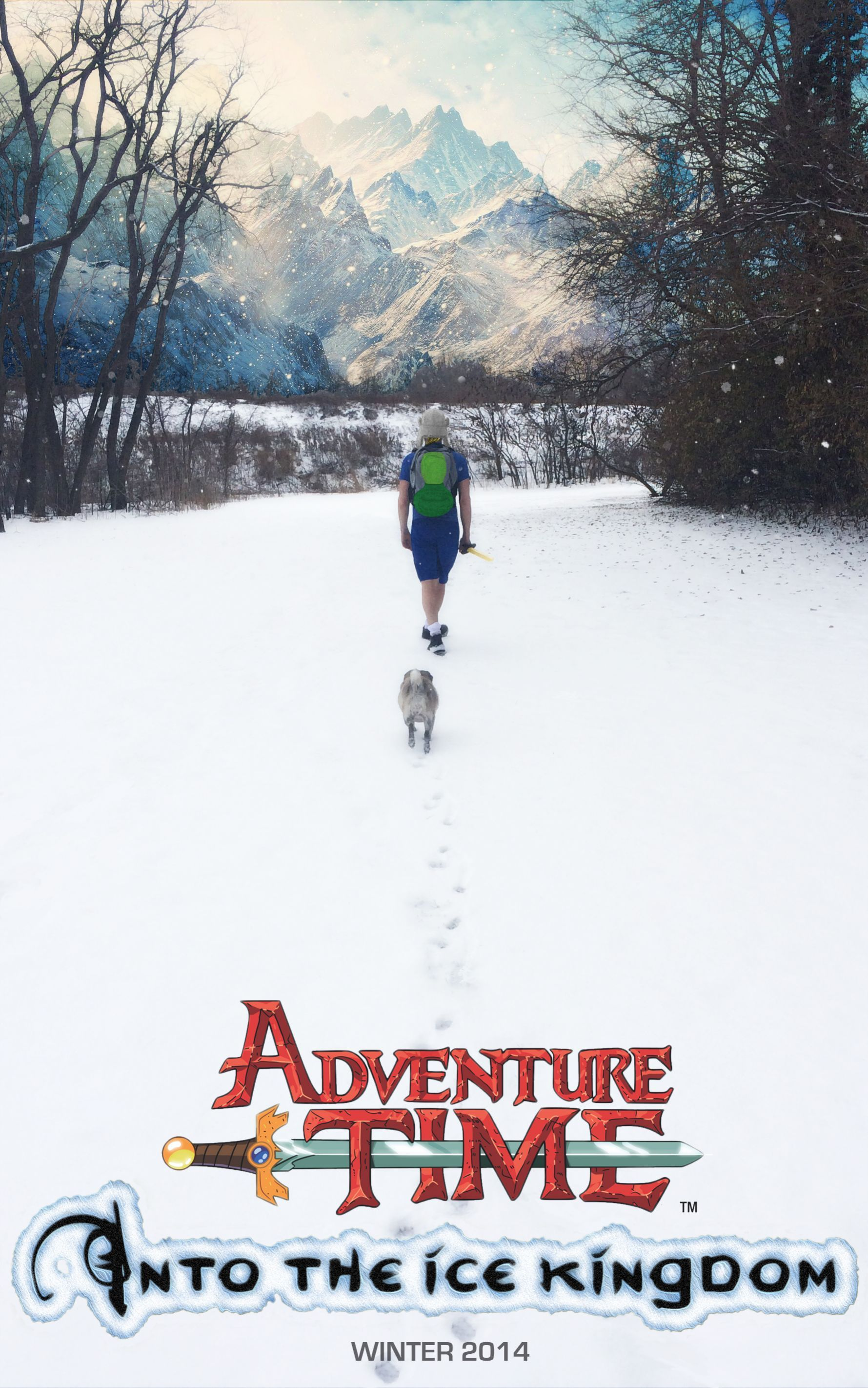 Adventure Time live action movie poster Adventure time