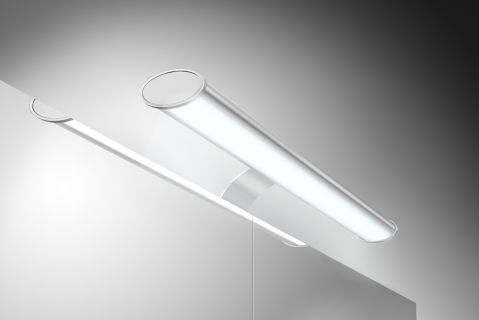 Badezimmer Spiegelschrank Beleuchtung Set Lampe 45 cm mit - spiegelschrank badezimmer 120 cm