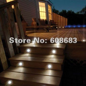 Led Step Lighting Entrancing A Slapup Of Exterior Ip67 Led Step Lights Lighting Set 18Pcs 04W Design Decoration