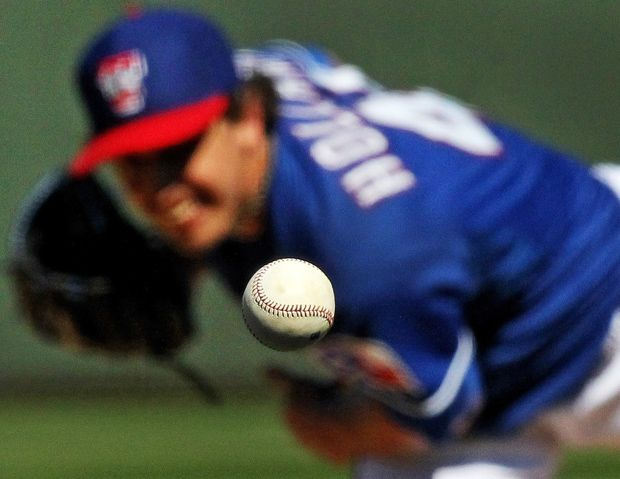 How To Get This Shot Freezing A Baseball In Mid Flight At Texas Rangers Camp Photos Dallas News Texas Rangers Dallas Sports Ranger