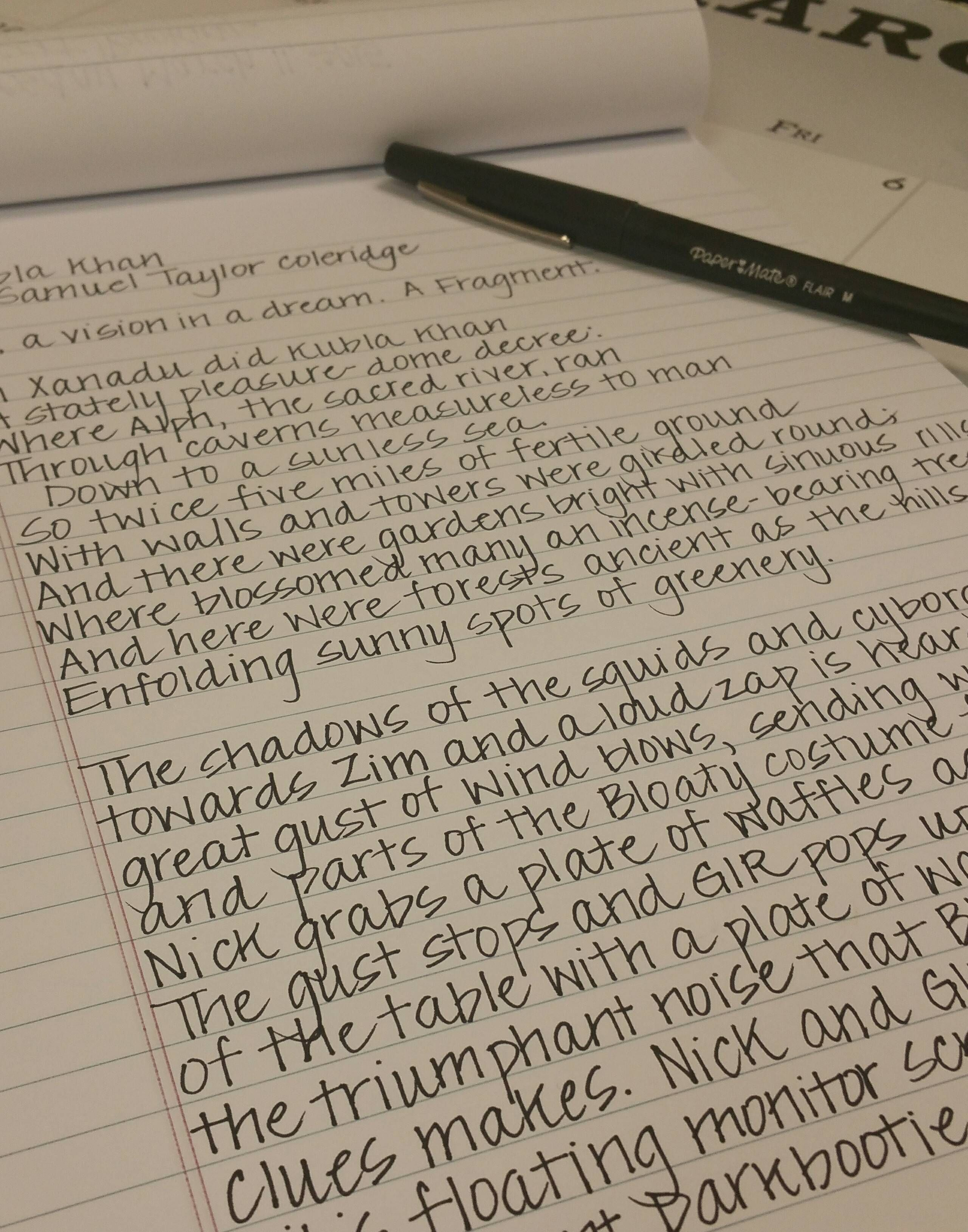 Handwriting Practice From R Handwriting Somebody