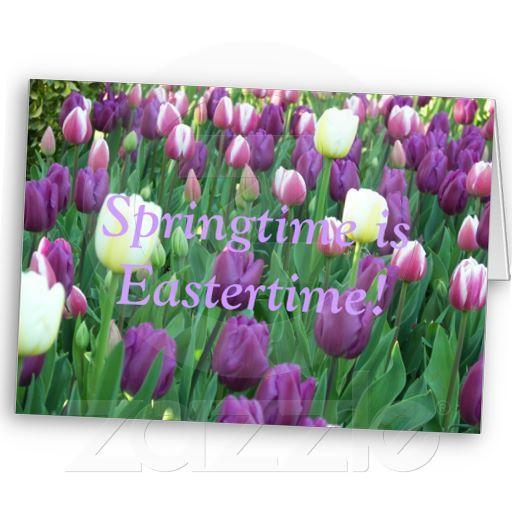 Springtime, Eastertime Card