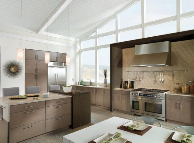 19 Elegante, große offene Küchenideen für alle, die gerne