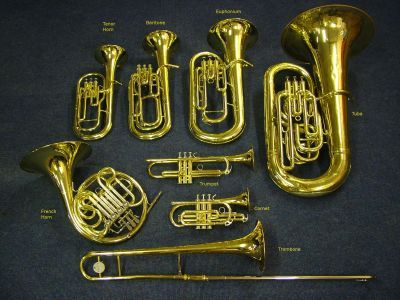 Rowan: Here is the brass family I play with.