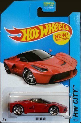Hot Wheels 2014 HW CITY Ferrari LaFerrari Red Color