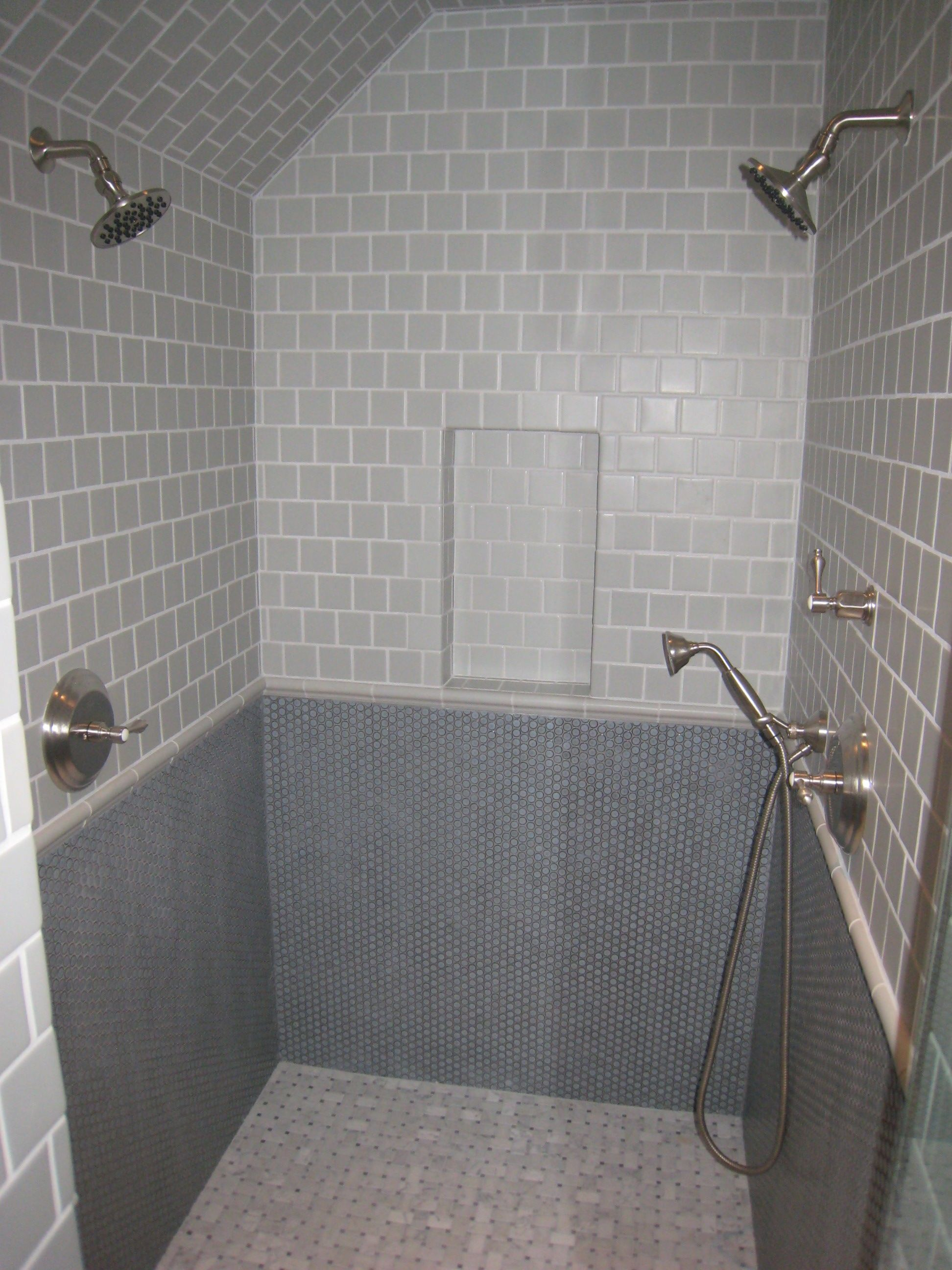 Bathroom tile wainscoting ideas