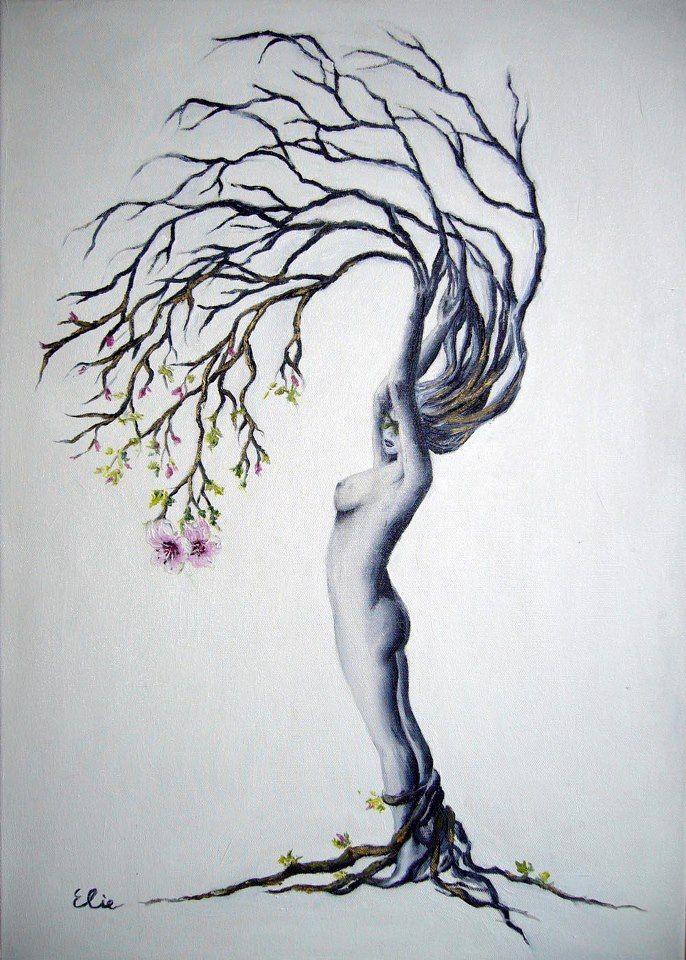 'tree woman'