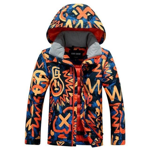 6089ae826 HOTIAN Outdoor Boys Snow Suit - Kid s