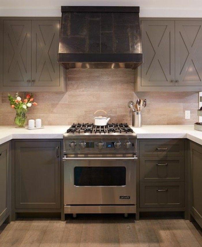 Cuisine taupe - 51 suggestions charmantes et très tendance | Maison ...