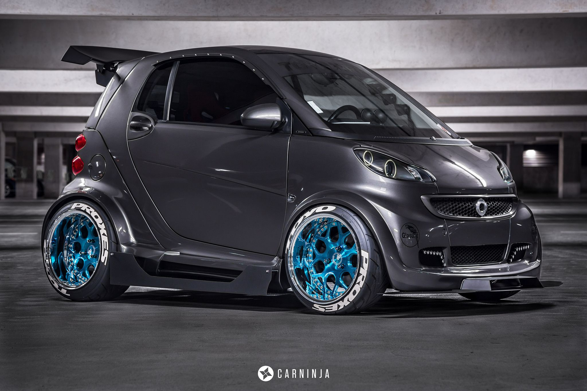 Smart Car Custom Widebody Smart Car Car Smart Fortwo
