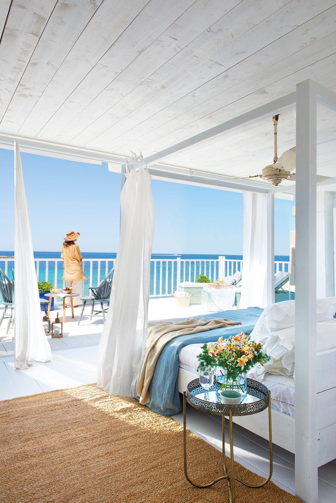 Dormir Con El Rumor Del Mar Casa Playa Decoracion