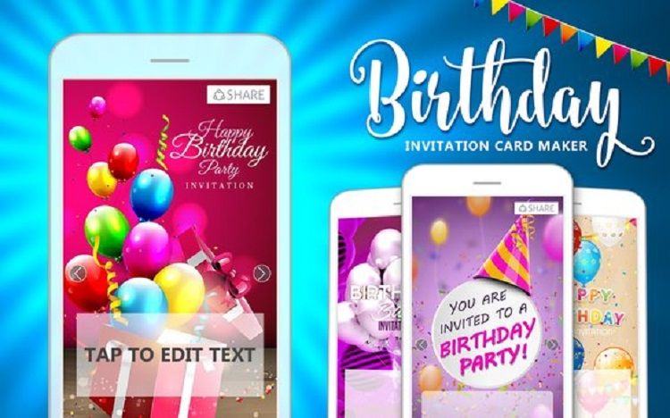 Make Birthday Invitations App Invitation Ideas In 2019 Pinterest