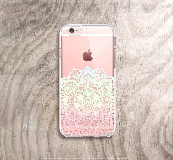 Mandala Iphone 7 Case Clear Iphone 8 Case Clear Iphone 7 Plus Case