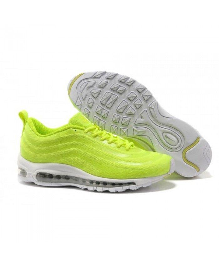 5196d1db9b1 Nike air max 97 cushion fluorescent green trainers