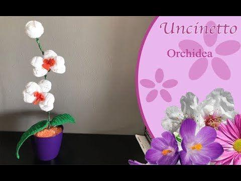 Amigurumi Uncinetto Schemi Gratis : Orchidea con tutorial schema gratis crochet uncinetto fiori