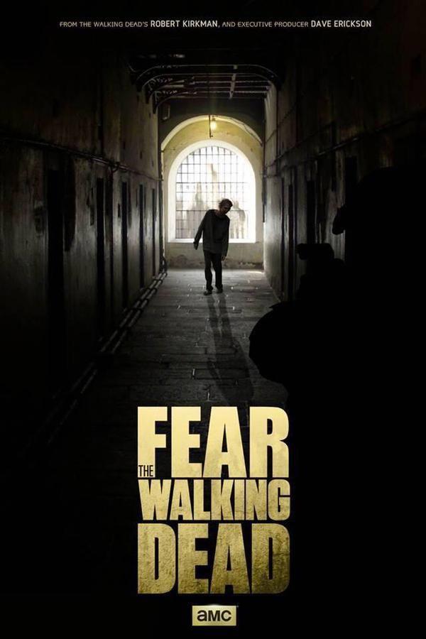 Fear The Walking Dead Saison 1 Streaming : walking, saison, streaming, Undead, Walking, Twitter, Poster,, Dead,