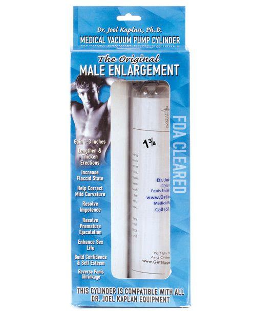 Dr Joel Kaplan Pump Cylinder 1 75 O D Male Enlargement Pumps