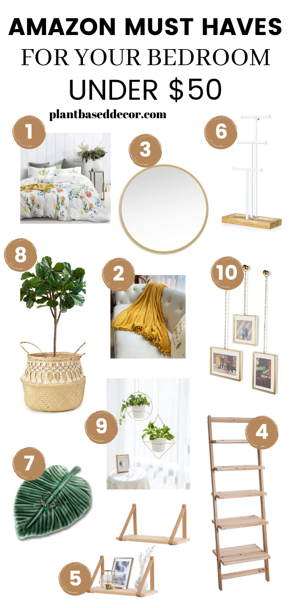 Bedroom Decor Must Haves In 2020 Affordable Bedroom Decor Amazon Decor Amazon Home Decor