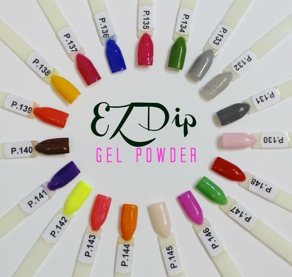 EZdip Gel Powder. DIY EZ Dip. No lamps needed, lasts 2-3 weeks ...
