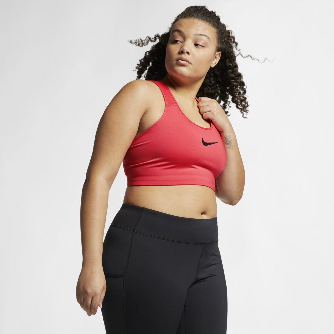 Swoosh Women's MediumSupport Sports Bra (Plus Size