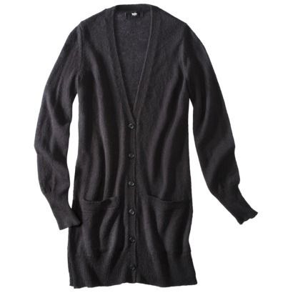 Size Small, color black Mossimo® Women's Boyfriend Cardigan ...