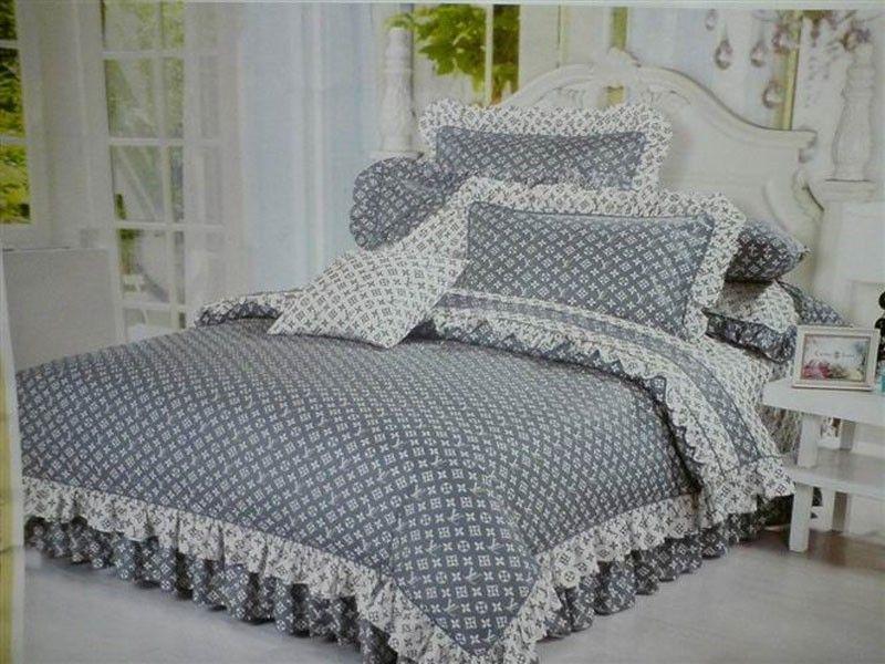 nur das beste louis vuitton lv bettw sche g nstig billig gut preiswert king size seide. Black Bedroom Furniture Sets. Home Design Ideas