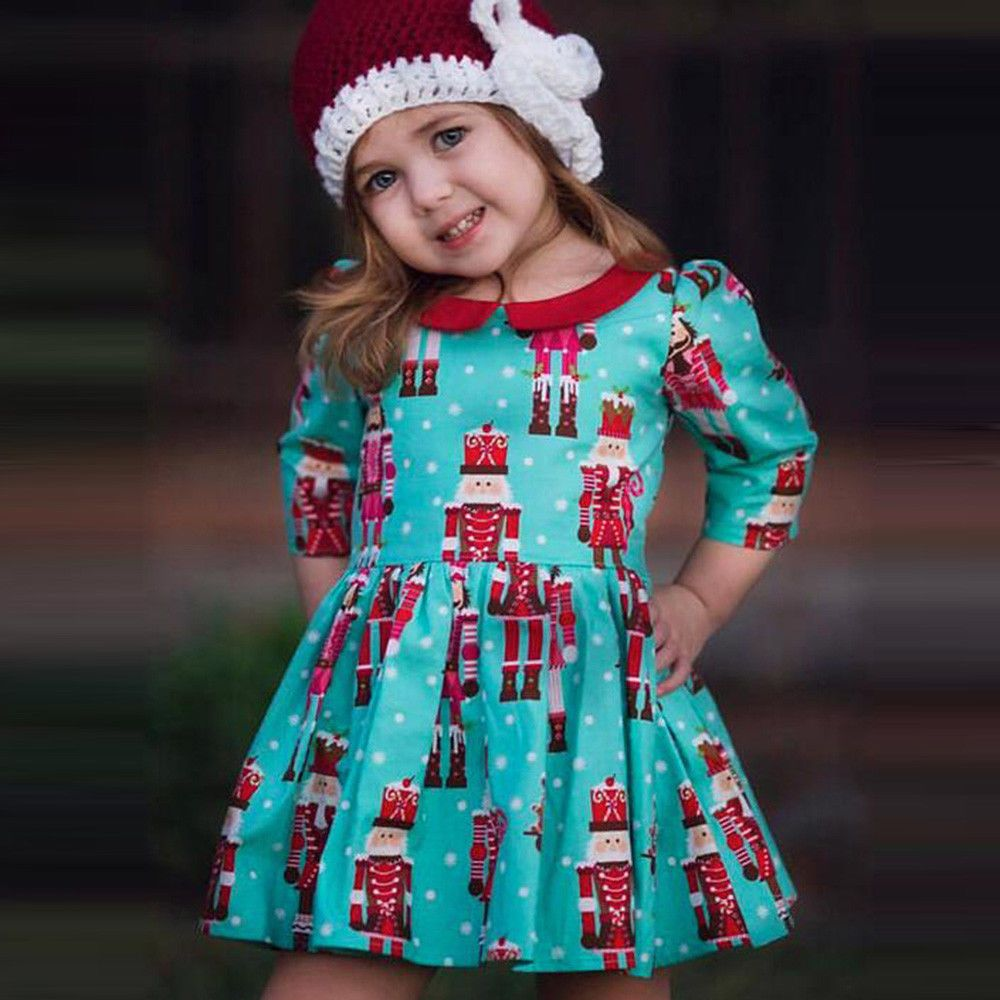 Awesome Awesome Toddler Kids Baby Girls Cartoon Princess Party Dress ...