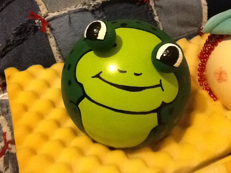 lick balls saying Frog my